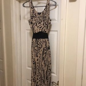 Hommage from Los Angeles small maxi high slit dress BNWOT